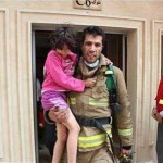 Iranian firefighter saves lives, even after his death