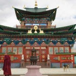 Moscow's first Buddhist Temple