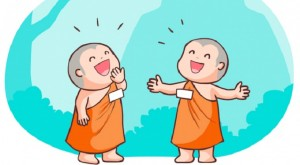 Little-Monks-Laughing