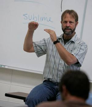 UW-WC Philosophy Professor Mark Peterson