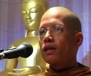 Malaysian Tamil billionaire visits Buddhist monk son in Penang