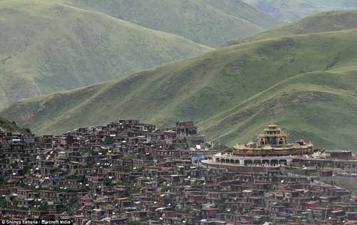 It's a city of 40,000 Monks!!!