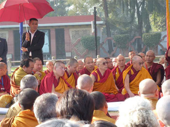 Dalai Lama concludes editorial meeting on Buddhist science book