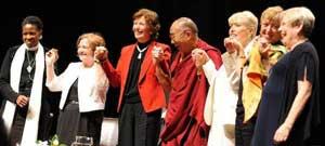 Dalai Lama: Women are Better Leaders !