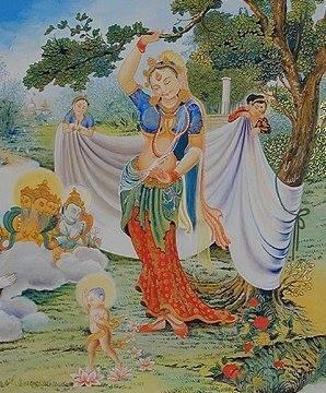 Buddha's birth