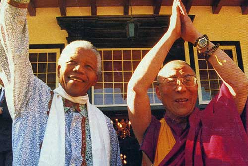 Dalai Lama misses his 'dear friend' Mandela