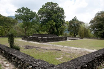 Lembah Bujang in the Merbok district of Kedah has more than 50 ruins of candi or temples with Hindu or Buddhist influences like this one