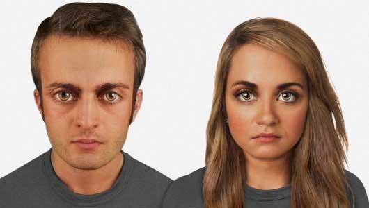 humans look