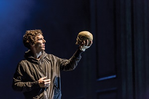 """Unconventional onstage and off: Cumberbatch is happy to inhabit intelligent, conflicted characters, from Sherlock Holmes to Hamlet. He stunned audiences in at Hamlet by breaking the """"fourth wall"""" to criticize British politicians and make an impassioned plea for funds to aid Syrian refugees. Photo via Collection Christophel / Hartswood Film / Arenapal."""