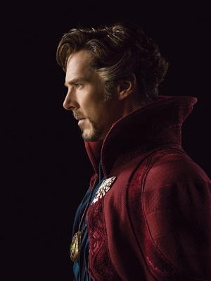 """Bringing the """"Master of the Mystic Arts"""" to life: Cumberbatch will star in Marvel Studios' Doctor Strange this November. Photo by Michael Muller / © 2015 MVLFFLLC. TM & © 2015 Marvel. All rights reserved."""